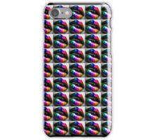 """Zips and Lips"" - phone iPhone Case/Skin"