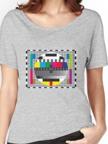 TV transmission test card Women's Relaxed Fit T-Shirt