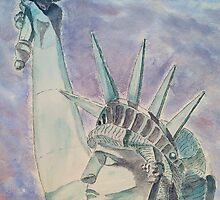 The Statue of Liberty by Eva  Ason