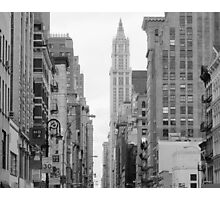 city blocks Photographic Print