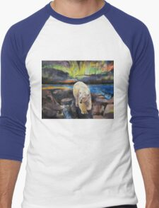 Northern Lights Men's Baseball ¾ T-Shirt
