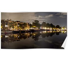 Windless night in Amsterdam Poster