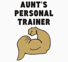 Aunt's Personal Trainer One Piece - Short Sleeve