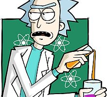 Rick & Morty - Because Science! by comfortshirt