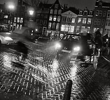 Traffic hour in Amsterdam by Pim Kops