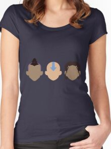 Team Avatar Women's Fitted Scoop T-Shirt