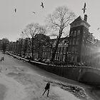 Frozen Amsterdam by Pim Kops