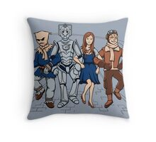 Wizard of Who Throw Pillow