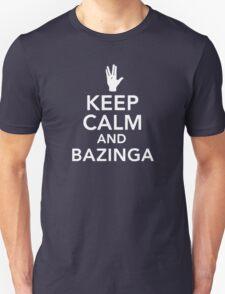 The Big Bang Theory Keep Calm and Bazinga T-Shirt