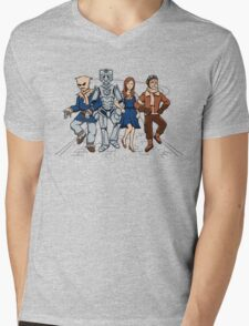 Wizard of Who Mens V-Neck T-Shirt