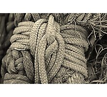 Nautical Knot Photographic Print