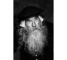 A Wise Old Man Photographic Print