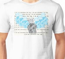i do not introduce the log Unisex T-Shirt