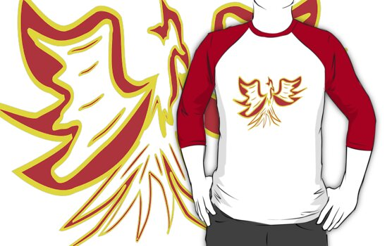 The Phoenix T-shirt design by Dennis Melling