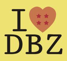 I <3 DRAGON BALL Z Kids Clothes