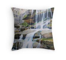 Ogalala Waterfall Throw Pillow