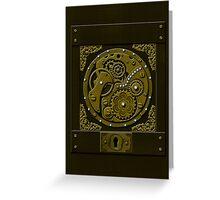 Steampunk Box Greeting Card