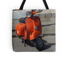 Orange Vespa Tote Bag