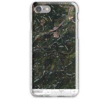 USGS Topo Map Washington State WA Aladdin 20110512 TM iPhone Case/Skin