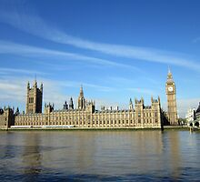 Parliament, London by crhodesdesign