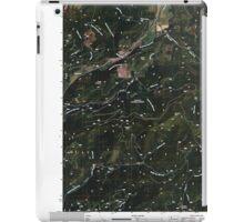 USGS Topo Map Washington State WA Aladdin 20110512 TM iPad Case/Skin