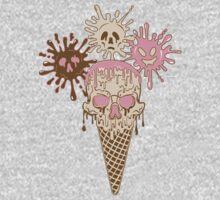 Ice Scream One Piece - Long Sleeve