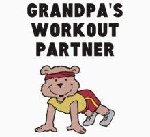 Grandpa's Workout Partner Kids Tee