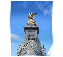 Victoria Memorial, London Poster