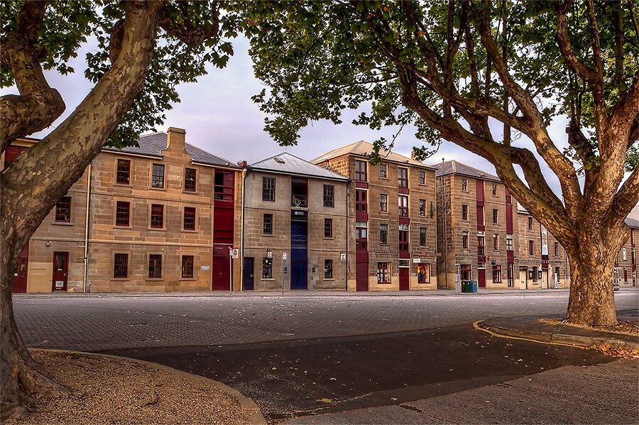 SALAMANCA PLACE by Lynden