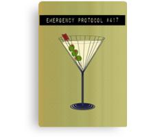 Emergency Protocol #417 Canvas Print