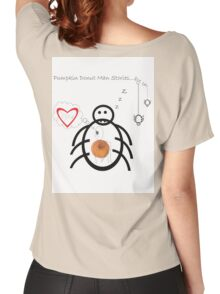 Pumpkin Donut Man Episode ¨The end?¨ Women's Relaxed Fit T-Shirt