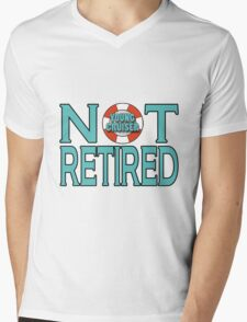 Young Cruiser-Not Retired Mens V-Neck T-Shirt