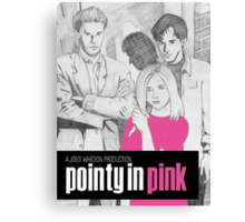 Pointy In Pink Canvas Print