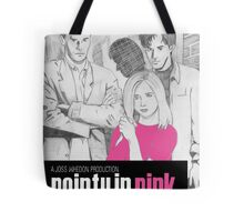 Pointy In Pink Tote Bag