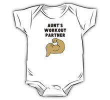 Aunt's Workout Partner One Piece - Short Sleeve