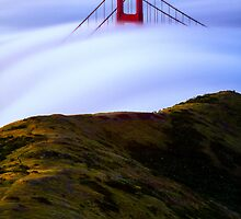 A Little Slice of Golden Gate Bridge by Toby Harriman