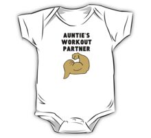 Auntie's Workout Partner One Piece - Short Sleeve