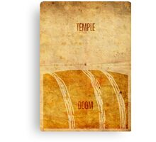 Temple (aged) Canvas Print