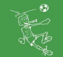 Goal! (Soccer Girl/white outline) by Jones1993