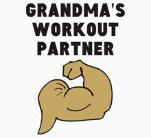Grandma's Workout Partner Kids Tee