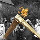 Olympic Torch &#x27;Kiss&#x27; by TesniJade