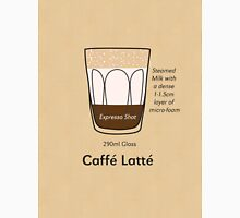 Coffee Addict, Caffé Latté Unisex T-Shirt