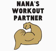 Nana's Workout Partner Kids Tee