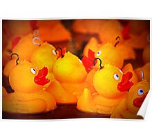 Hook a duck Poster