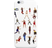 glee dodgeball iPhone Case/Skin