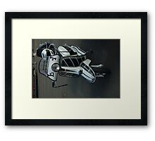 Lambretta Scooter Isle of Man Framed Print