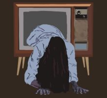 sadako's on the telly by gigglingnewt