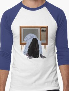 sadako's on the telly Men's Baseball ¾ T-Shirt