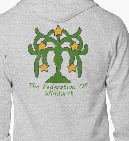 The Federation of Windurst Zipped Hoodie