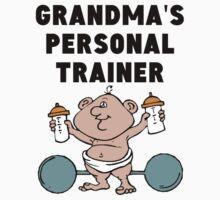 Grandma's Personal Trainer One Piece - Short Sleeve